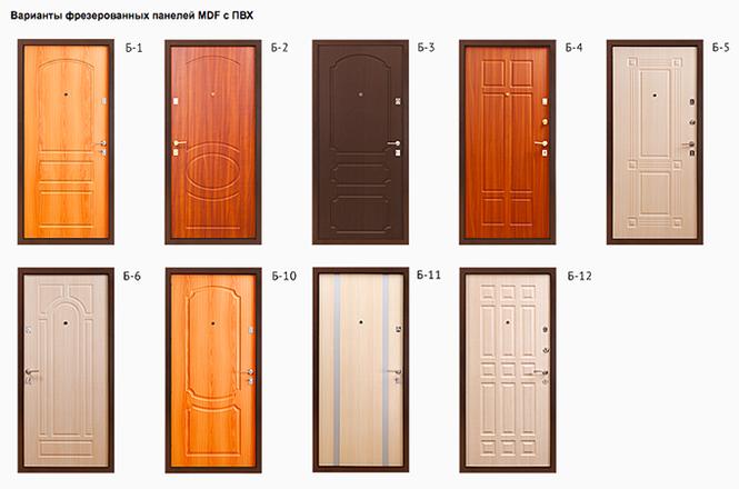 металлические двери фрезеровки